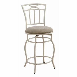 Samantha Swivel 24 Counter Stool by Rosalind Wheeler