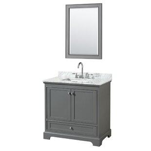 Deborah 35 Single Bathroom Vanity Set with Mirror by Wyndham Collection