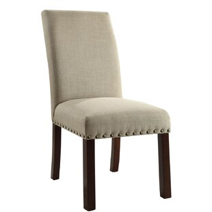 Obryan Parsons Upholstered Dining Chair (Set of 2)