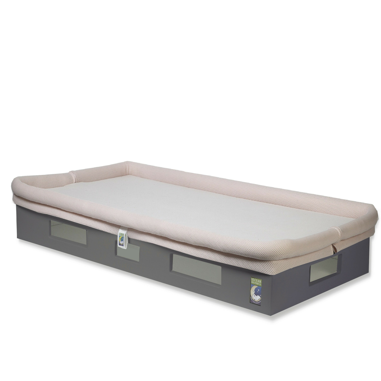 cribs bedroom baby mesh cozy bumpers sleep safesleep crib breathablebaby liner design mini breathable serta mattress for