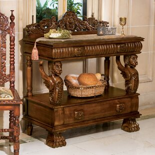 The Lord Raffles Winged Lion Server Design Toscano