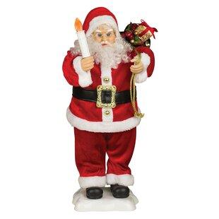 animated santa figurine - Indoor Animated Christmas Figures
