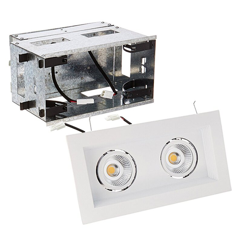 Mini Multiple 2 Light Remodel Housing 3 5 Led Recessed Lighting Kit