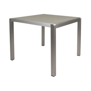 Shop For Germania Anodized Aluminum Dining Table Best Deals
