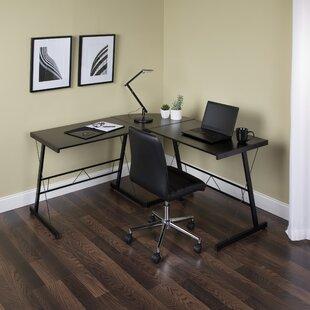 Bellmead L-Shape Corner Credenza desk