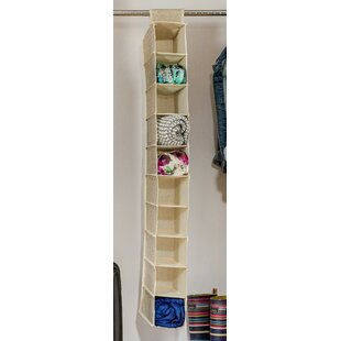 Find for Wayfair Basics 10 Pair Fabric Hanging Shoe Organizer By Wayfair Basics™