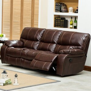 Ewa Double Reclining Sofa by Roundhill Furniture