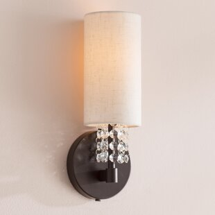 Reviews D'or 1-Light Armed Sconce By Willa Arlo Interiors