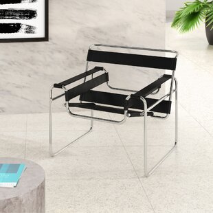 Sariah Leather Lounge Chair