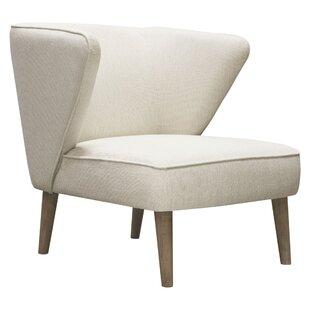 Clover Wingback Chair by Diamond Sofa