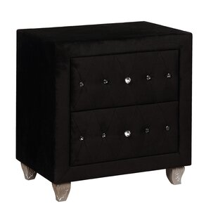 Mifley 2 Drawer Nightstand