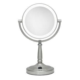 Best Reviews Vanity Mirror with LED Surround Light ByDarby Home Co