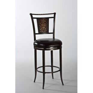 Parkside 26 Swivel Bar Stool with Cushion Hillsdale Furniture