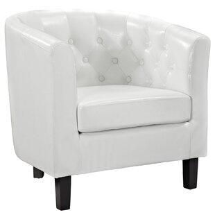Best Price Maldonado Barrel Chair ByZipcode Design