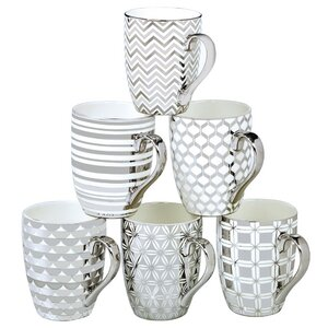 Blayze 6 Piece Tapered Mug Set