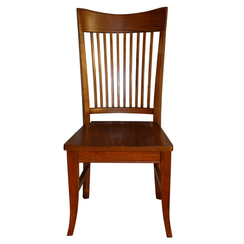 Tyrell Curved Spindle Back Solid Wood Dining Chair