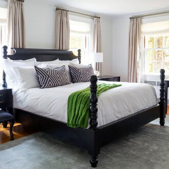Four Poster Bed | 9 Bed Styles to Know | Wayfairu0027s Ideas u0026 Advice & 9 Bed Styles to Know | Wayfair
