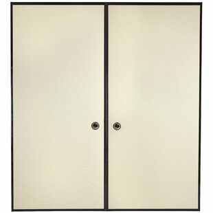 Paneled Wood Painted Sliding Closet Doors