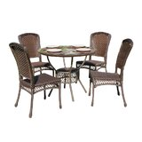 Neriah Casual Outdoor 5 Piece Dining Set