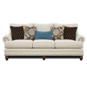 Petersburgh Wood Sofa by Darby Home Co