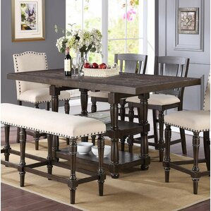 Dining Room Table Expandable Inspiration Extendable Kitchen & Dining Tables You'll Love  Wayfair Design Inspiration