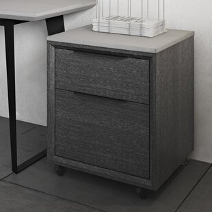 Soleil 2-Drawer Mobile Vertical Filing Cabinet
