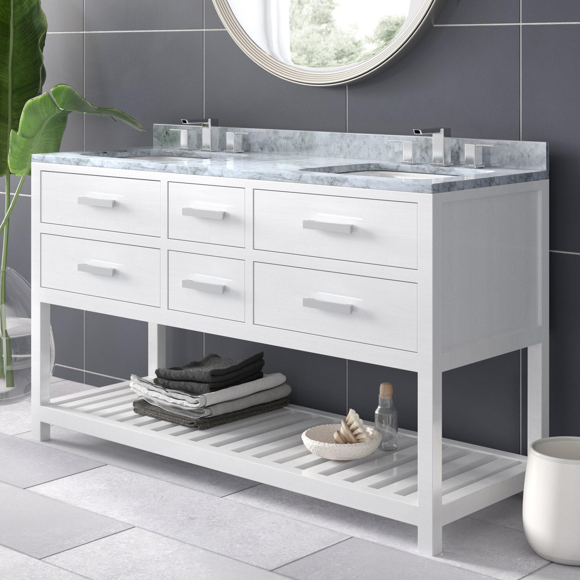 Modern Minimalist Bathroom Vanities Allmodern