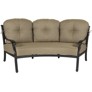 Gadson Castle Rock Crescent Patio Sofa with Cushions