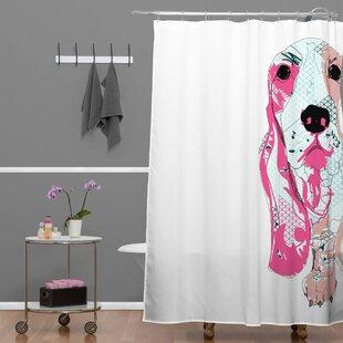 Casey Rogers Bassett Shower Curtain