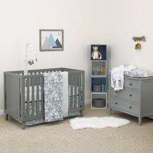Shop For DwellStudio Bear Hugs 100% Cotton Super Soft Fitted Crib Sheet ByDwellStudio
