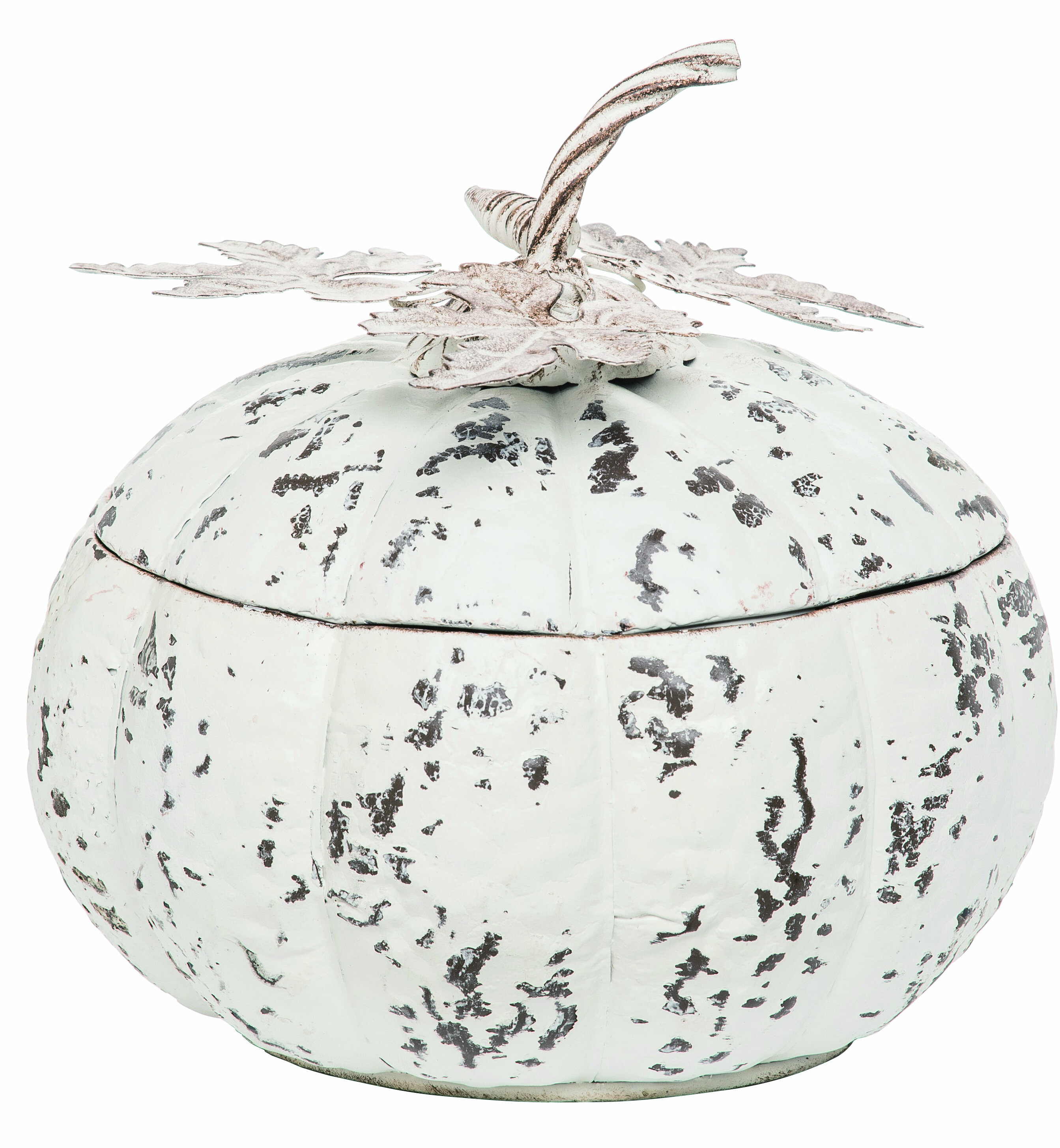 The Holiday Aisle Metal Harvest Pumpkin Container Reviews Wayfair