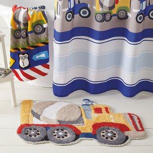 Kaylie Trucks Bath Rug ByZoomie Kids