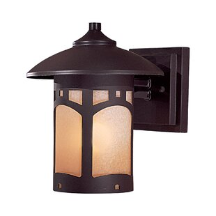 Compare Harveston Manor 1-Light Outdoor Wall Lantern By Great Outdoors by Minka