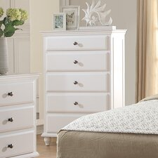Trisa 5 Drawer Chest by A&J Homes Studio