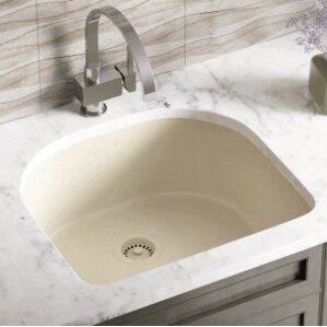 24 75 X 22 Single Undermount Kitchen Sink