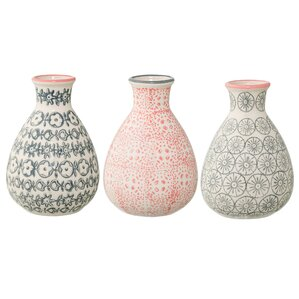 Nathalie 3-Piece Ceramic Vase Set