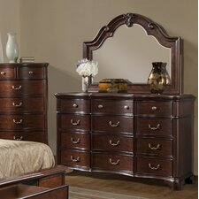 Salses 12 Drawer Dresser with Mirror by Astoria Grand