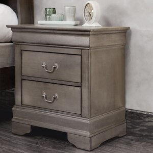 Corbeil 2 Drawer Nightstand