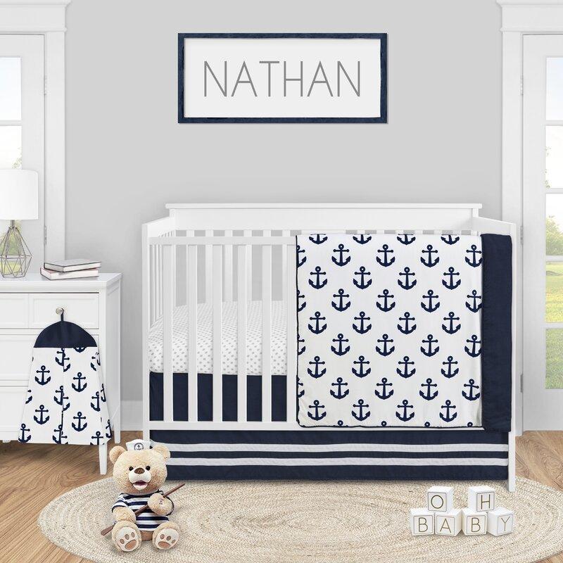 Sweet Jojo Designs 4 Piece Crib Bedding Set Wayfair