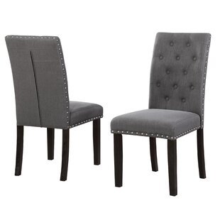 Gena Upholstered Dining Chair (Set Of 2) by Darby Home Co Wonderful