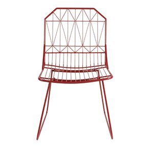 Thrapston Geometric Accent Chair by Kate and Laurel