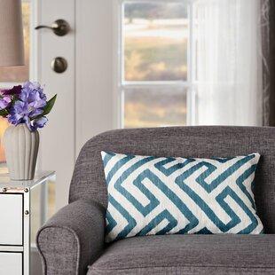 Aadvik Geometric Rectangular Indoor/Outdoor Lumbar Pillow