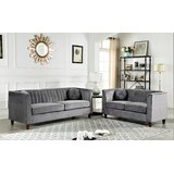 Arminta Chesterfield 2 Piece Living Room Set by Mercer41