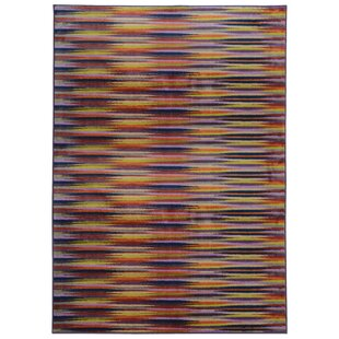 Order Prismatic Abstract Gold & Orange Area Rug By Pantone Universe