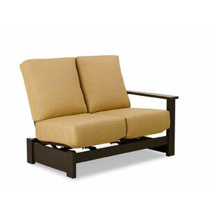 Leeward Marine Grade Polymer Deep 2-Seat Loveseat with Cushion by Telescope Casual
