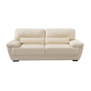 Vigil Leather Sofa by Latitude Run