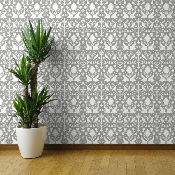 Schumacher Wallpaper Birds Wayfair Ca