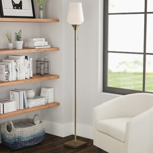 Savings Derry 71 Torchiere Floor Lamp By Latitude Run