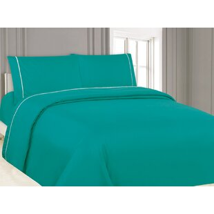 Pom Pom Ultra Soft Breathable Decorative Solid Color Sheet Set