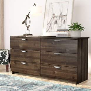 Hillsborough Double 6 Drawer Double Dresser